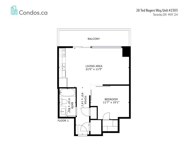 28 Ted Rogers Way, Unit 2303