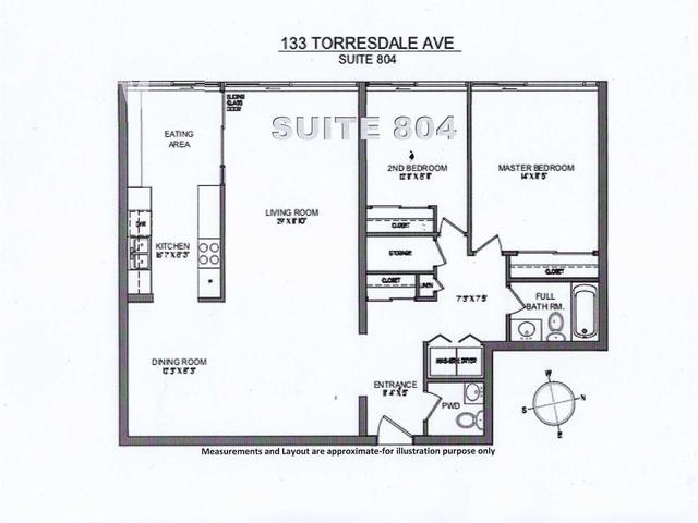 133 Torresdale Ave, Unit 804