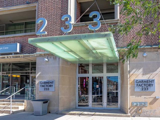 233 Carlaw Ave, Unit 707