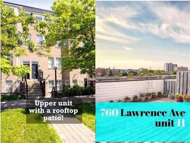760 Lawrence Ave W, Unit 11