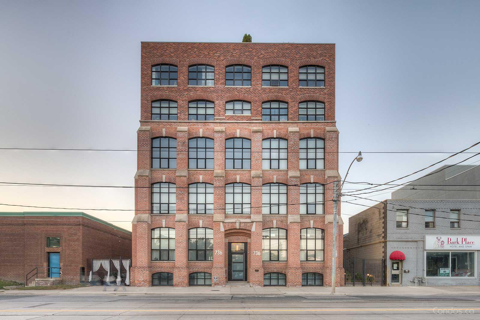 Tannery Lofts at 736 Dundas St E, Toronto 0