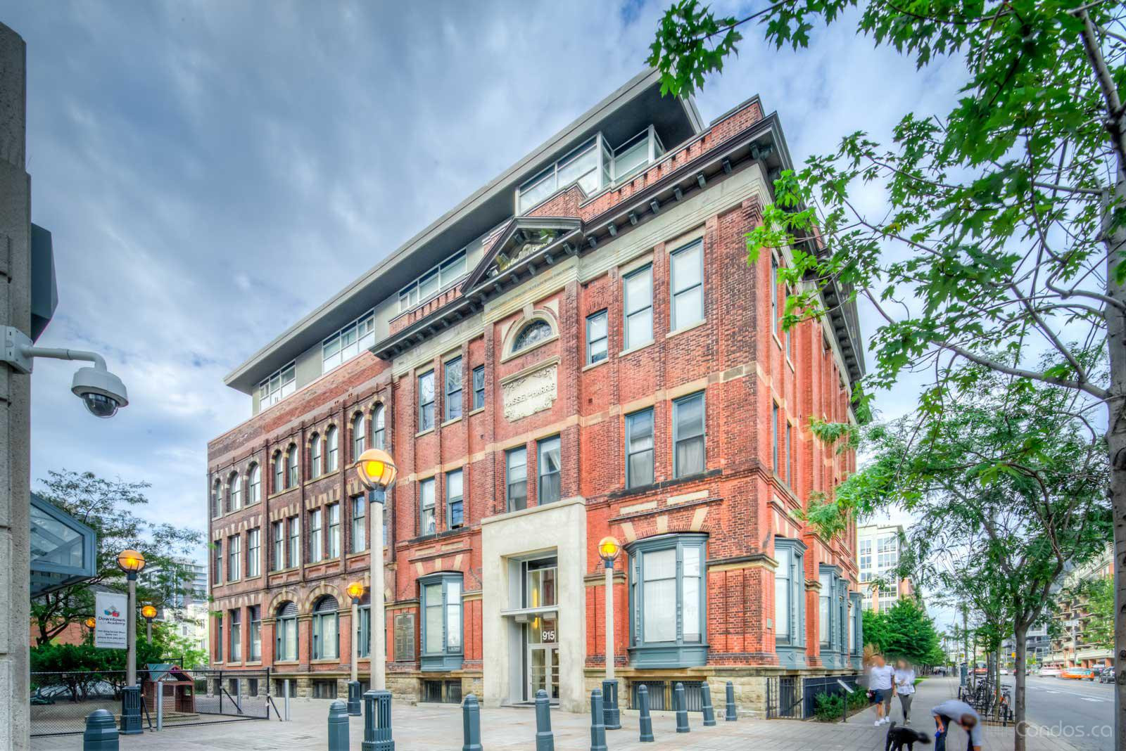 Massey Harris Lofts at 915 King St W, Toronto 0