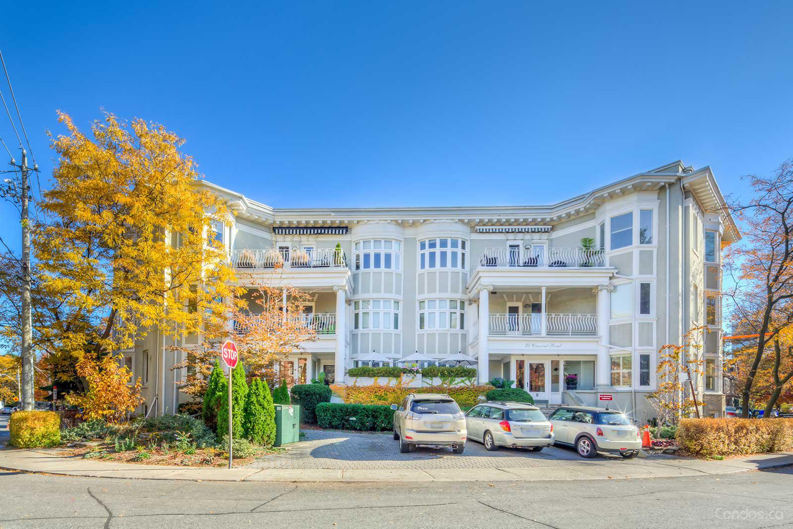 Castlemere Apartments at 75 Crescent Rd, Toronto 1