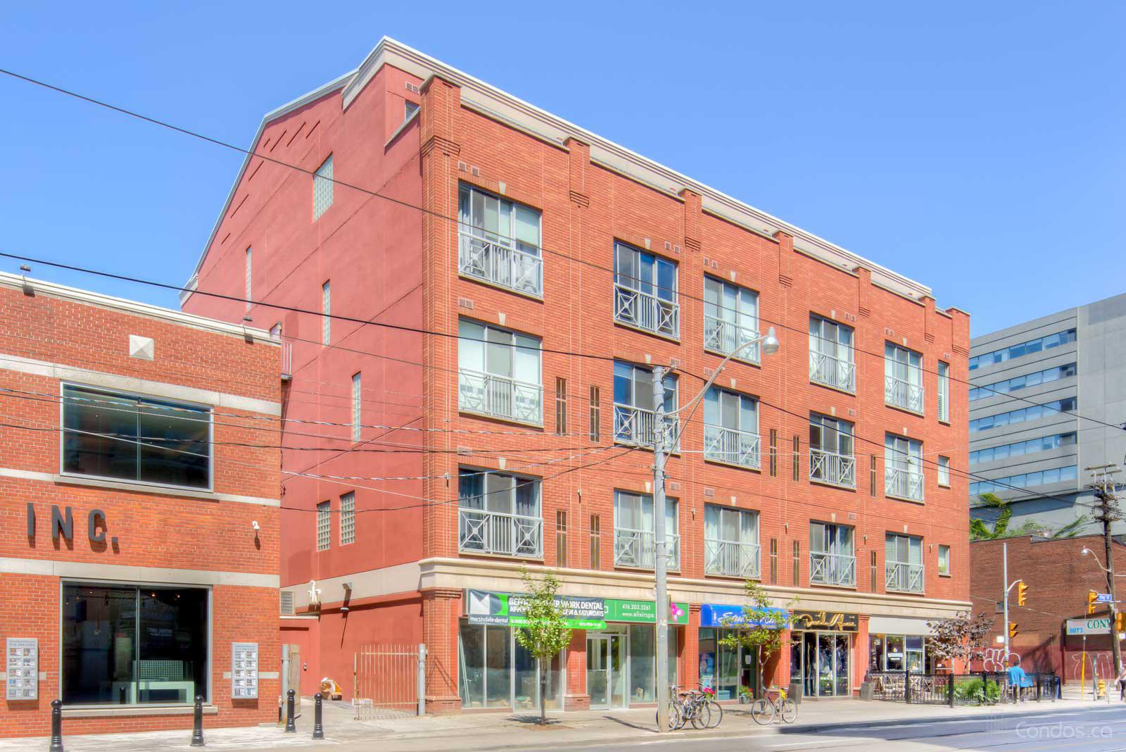 Tecumseth Lofts at 766 King St W, Toronto 0