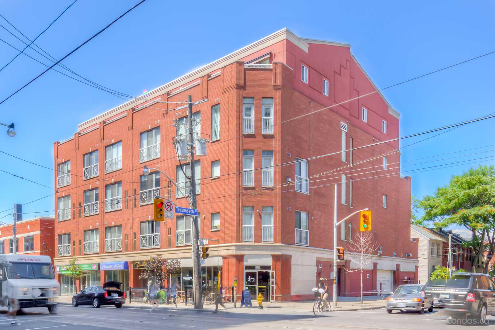Tecumseth Lofts at 766 King St W, Toronto 1