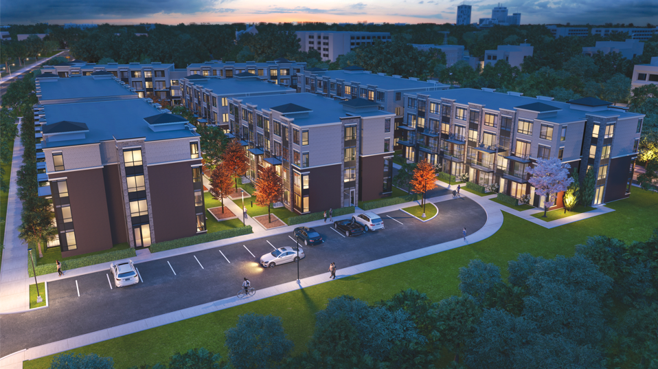 Claireville Urban Towns at 8832 The Gore Rd, Brampton 1