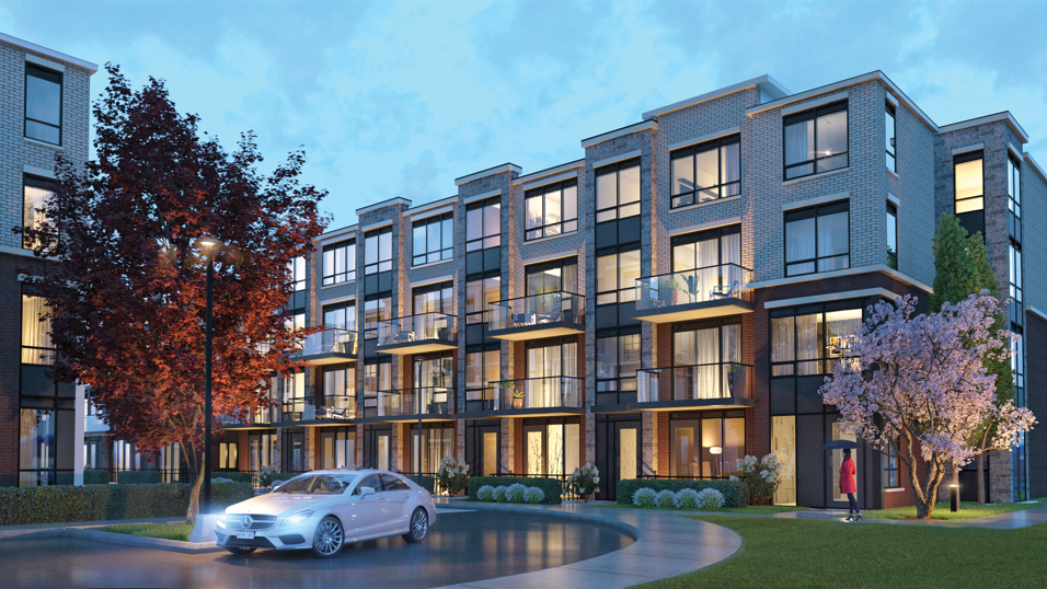 Claireville Urban Towns at 8832 The Gore Rd, Brampton 0