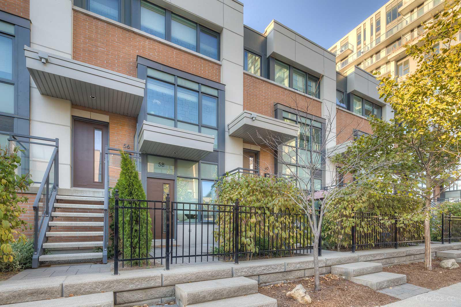 One Park West Townhomes at 13 Oak St, Toronto 0