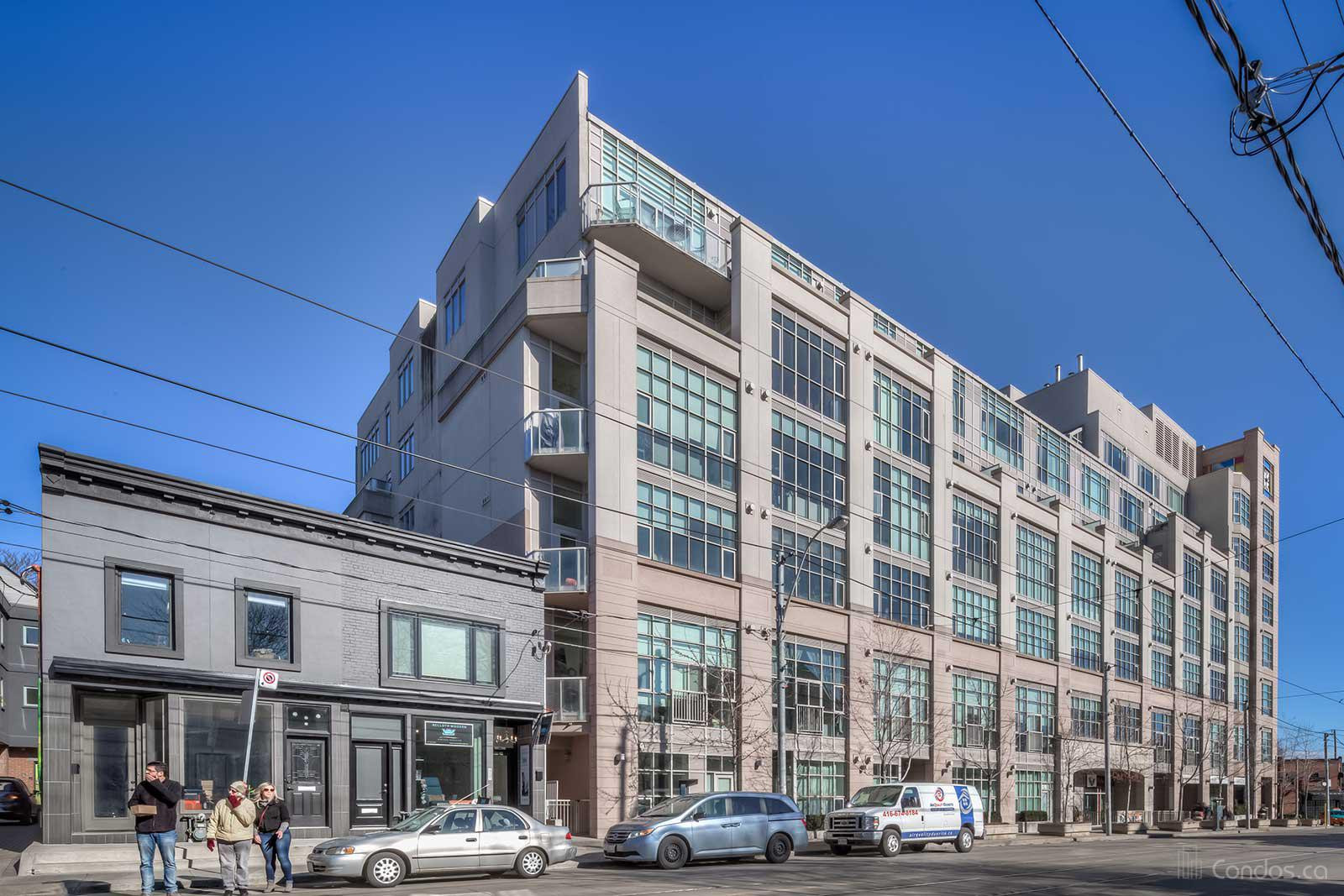 High Park Lofts at 437 Roncesvalles Ave, Toronto 0