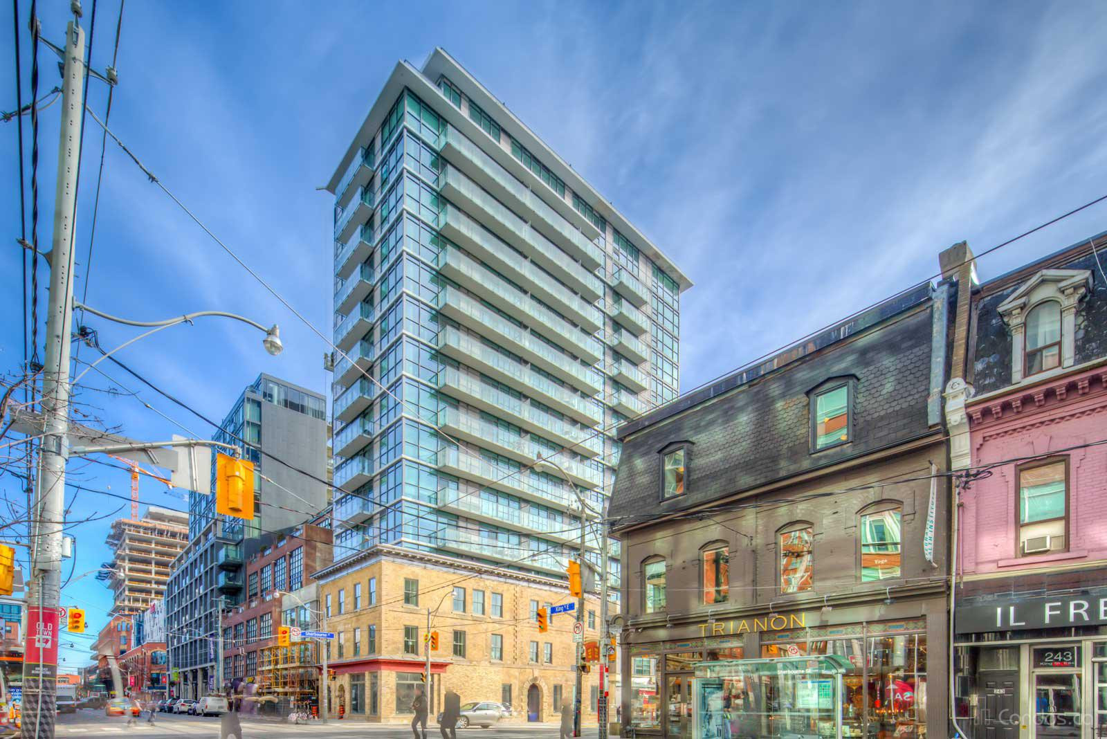 King+ Condos at 39 Sherbourne St, Toronto 1