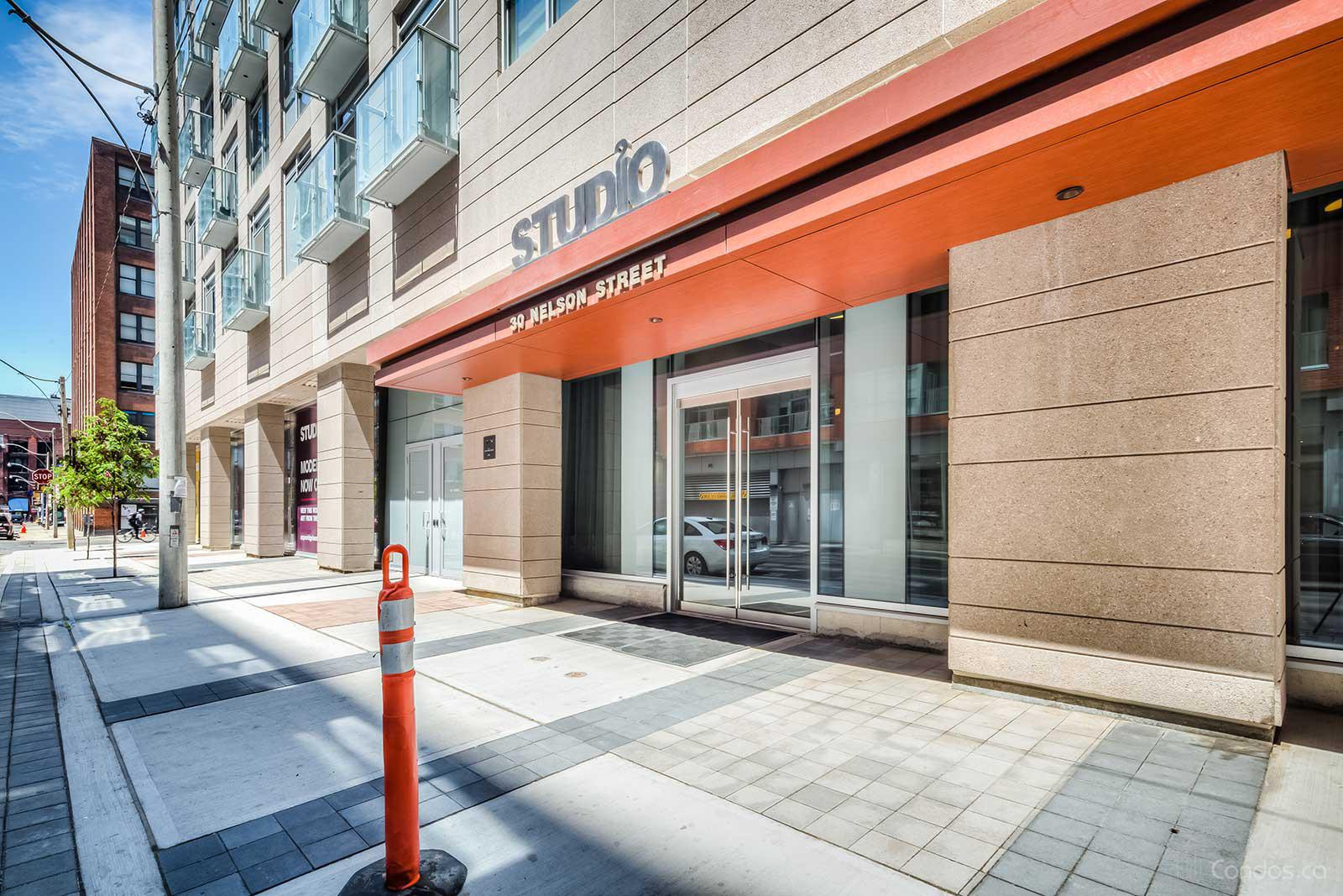 Studio 2 at 30 Nelson St, Toronto 1