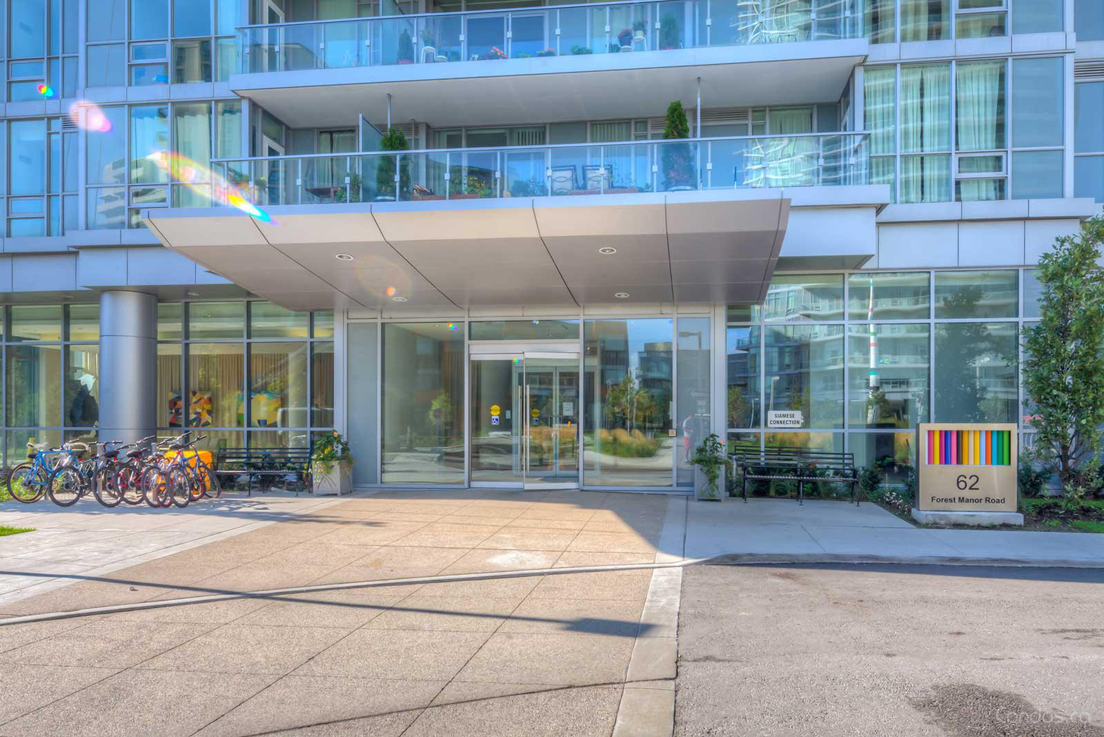 Dream Tower at Emerald City at 62 Forest Manor Rd, Toronto 1