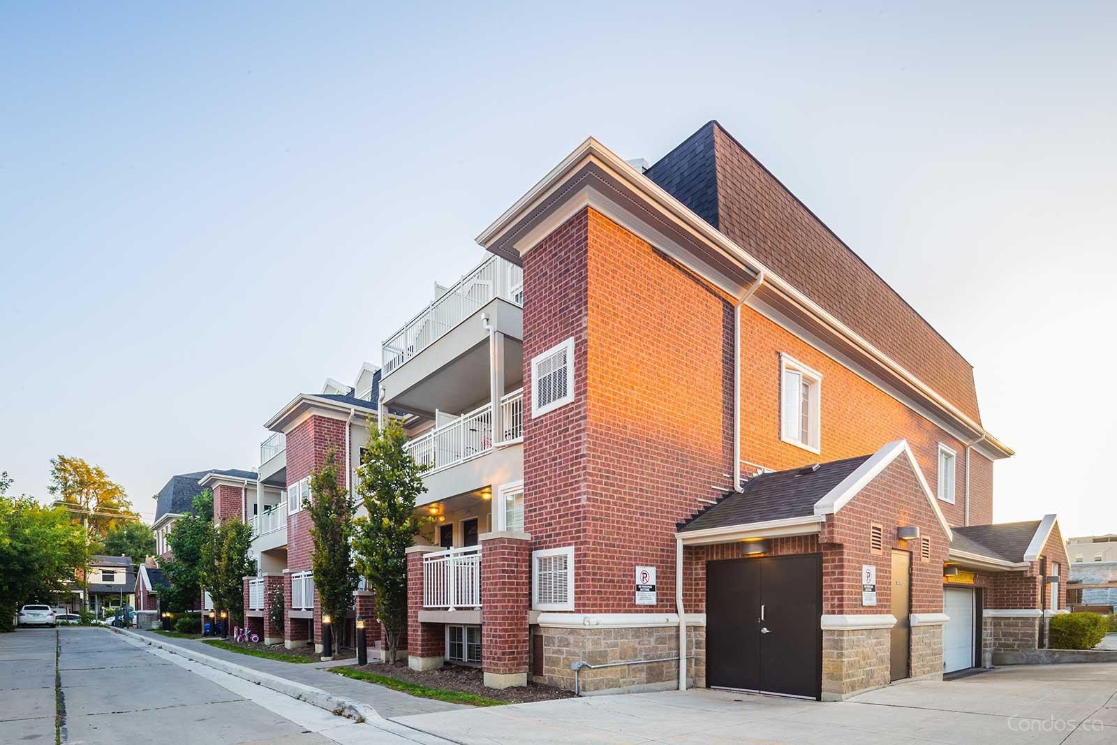 Upper Beach Townes at 2320 Gerrard St E, Toronto 1