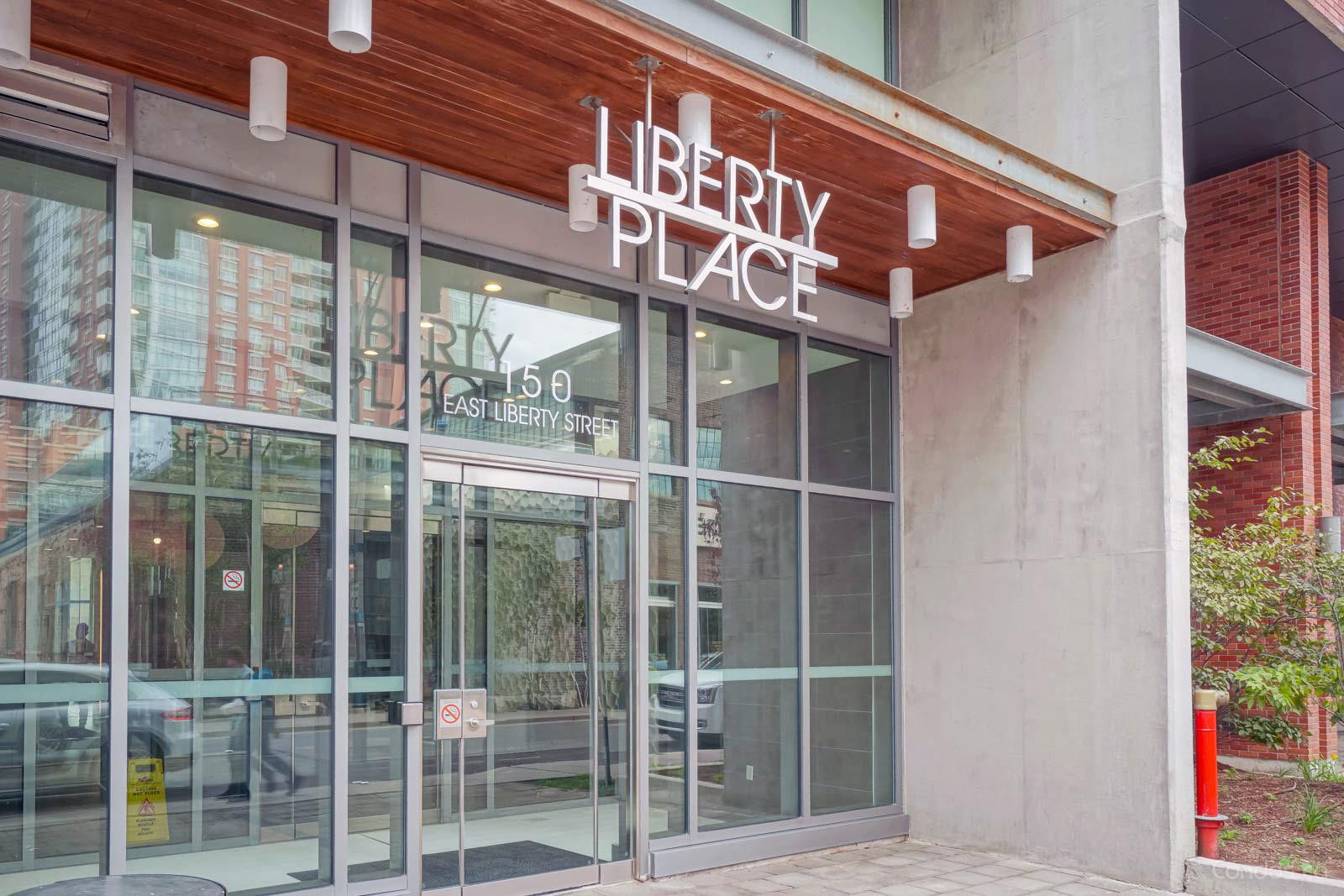 Liberty Place at 150 East Liberty St, Toronto 1