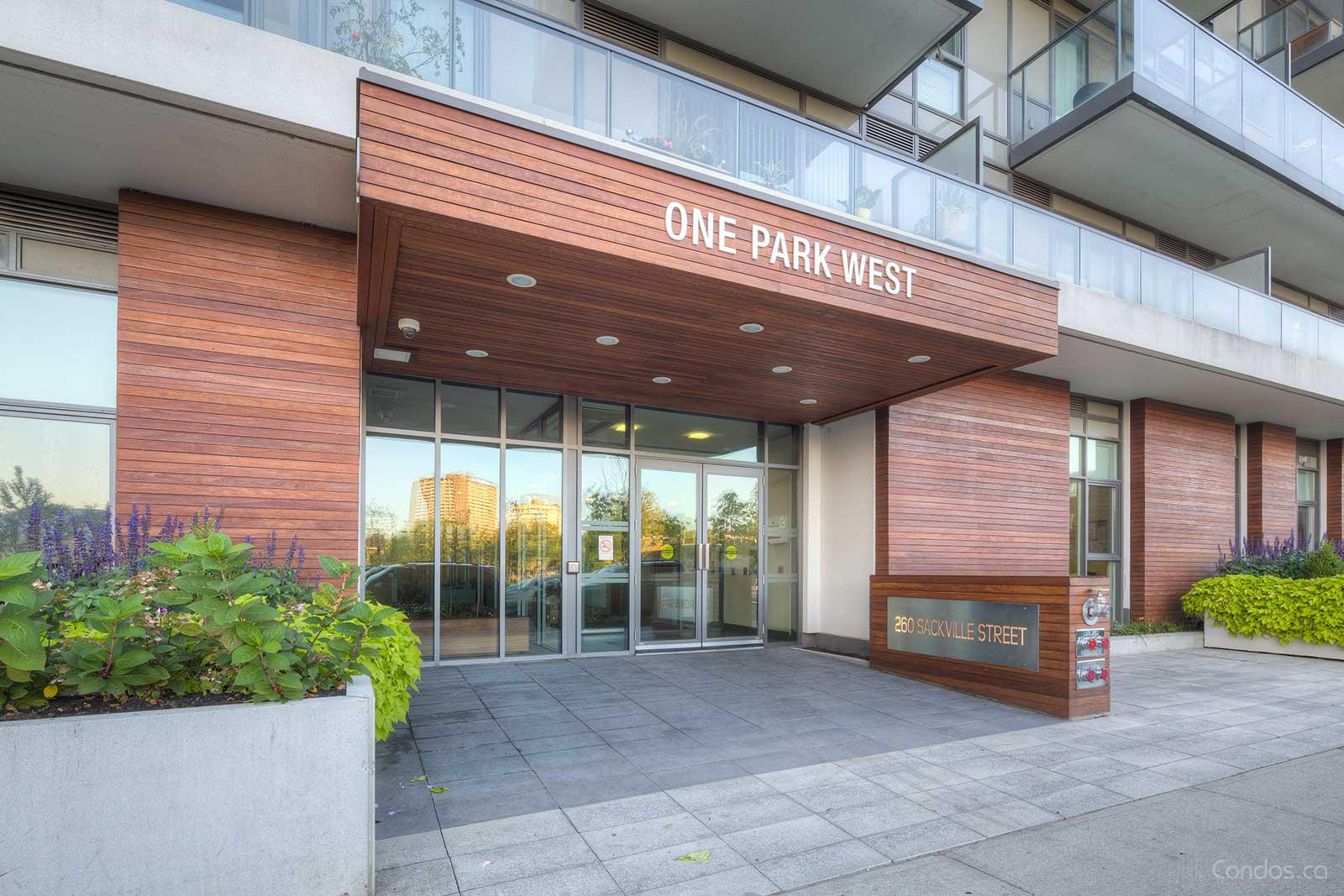 One Park West at 260 Sackville St, Toronto 0