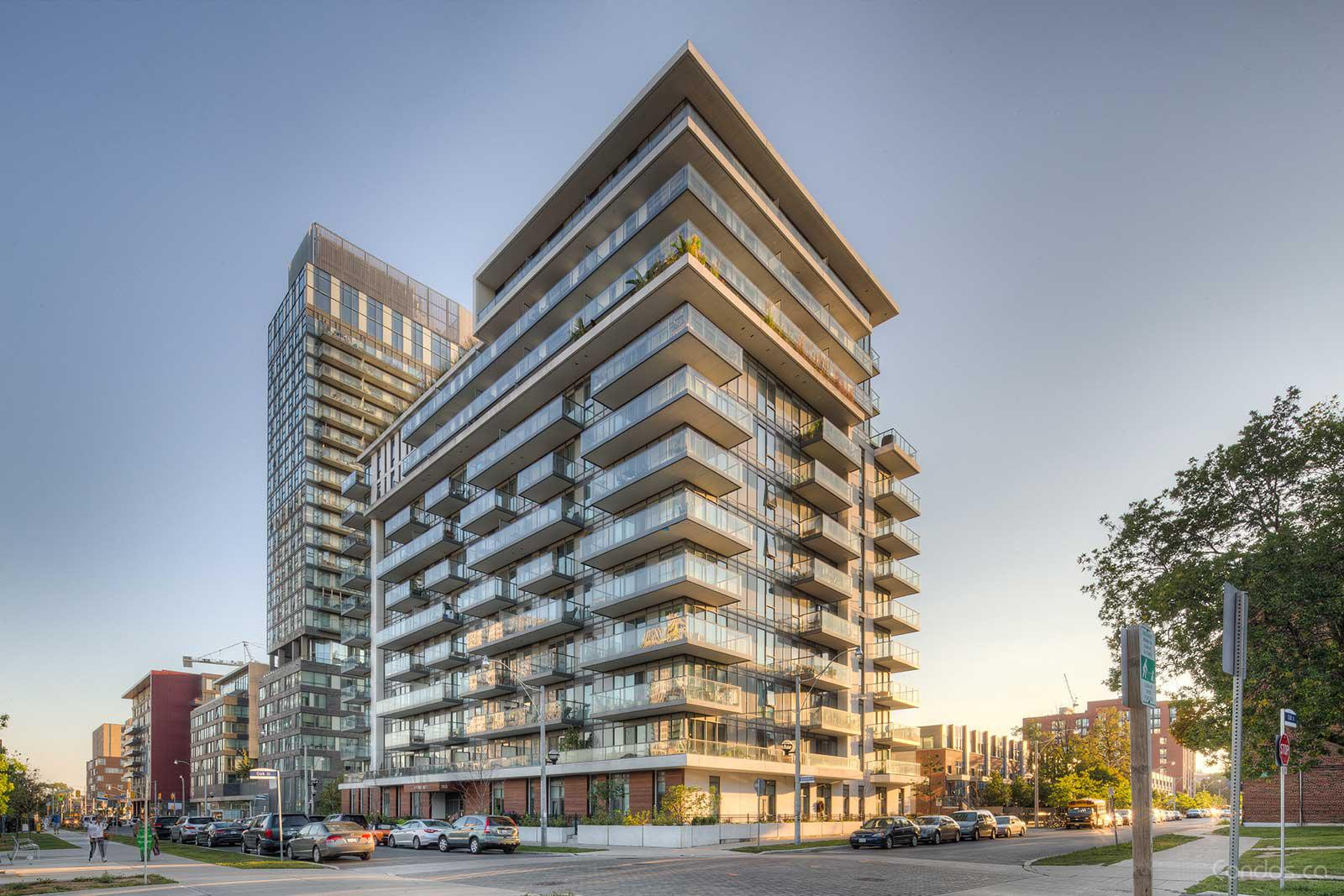 One Park West at 260 Sackville St, Toronto 1