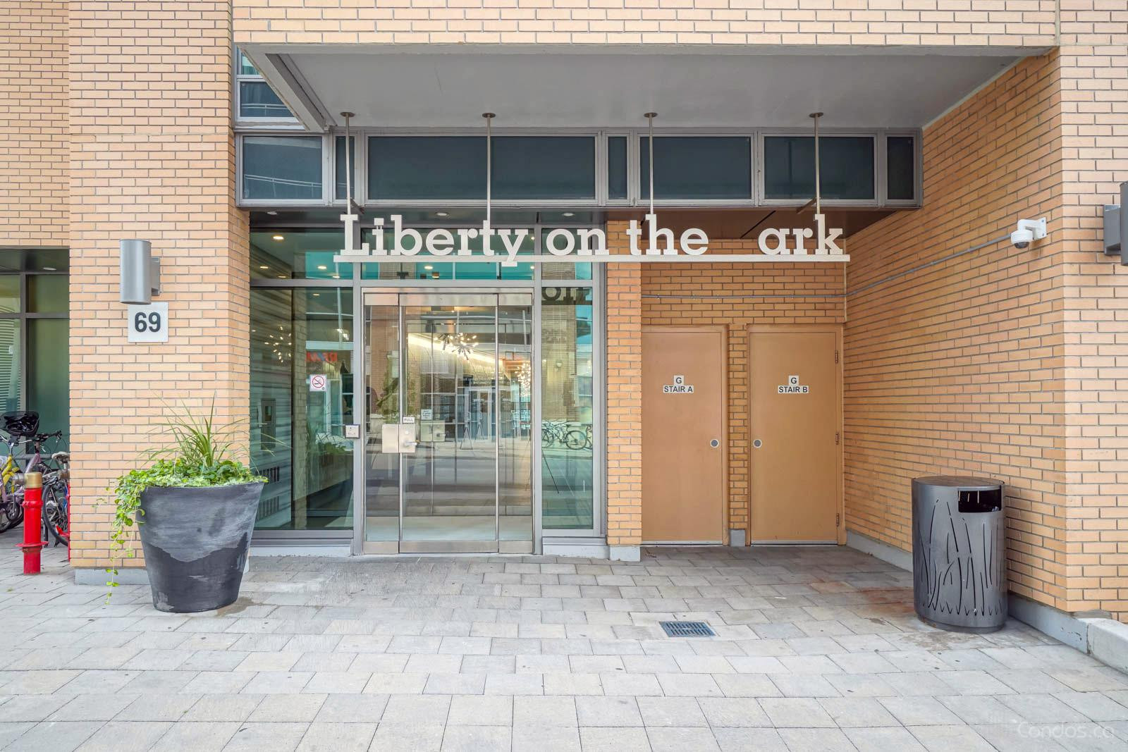 Liberty on the Park at 69 Lynn Williams St, Toronto 1