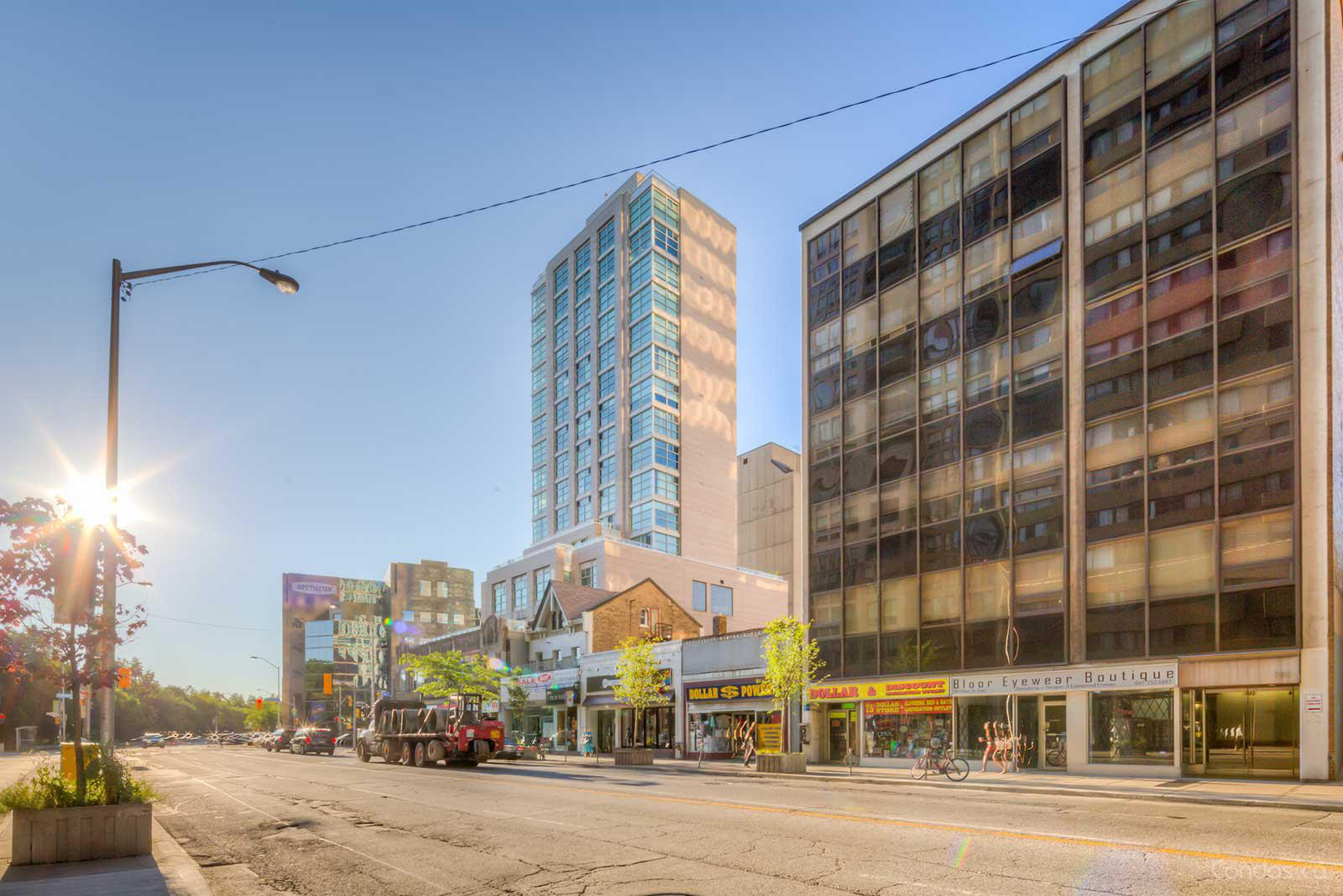The Rosedale at 409 Bloor St E, Toronto 1