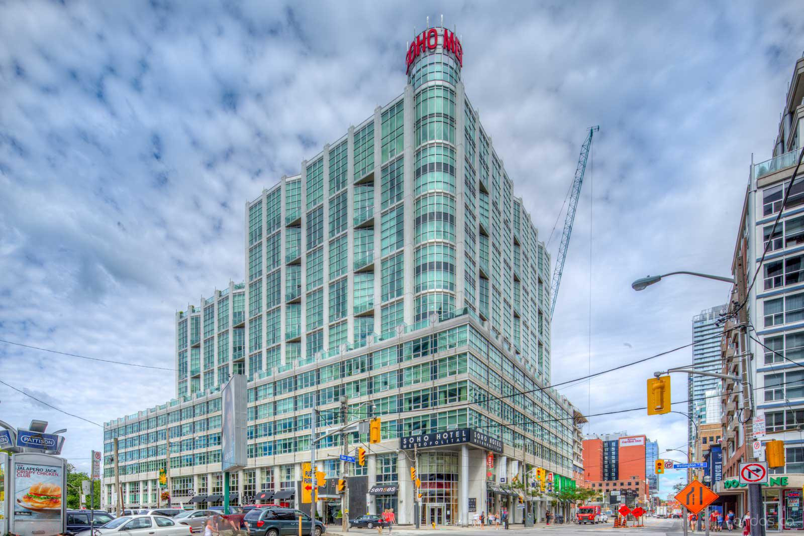 The Soho Metropolitan at 36 Blue Jays Way, Toronto 0