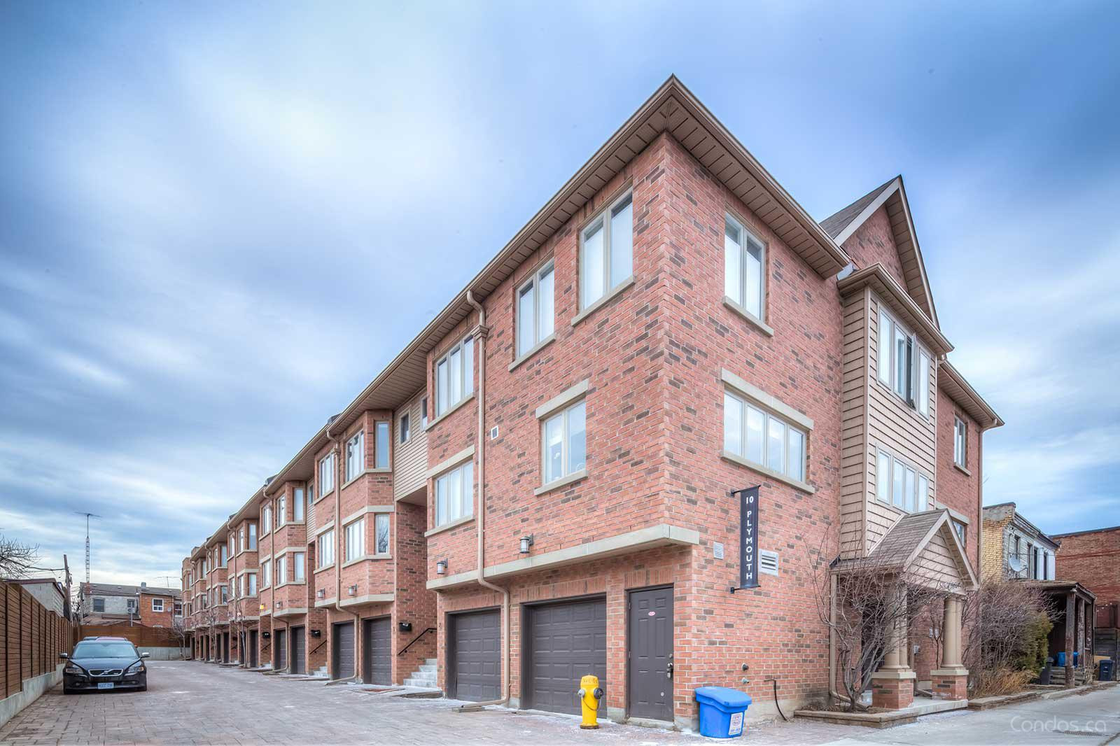 Townhomes of Plymouth Avenue at 10 Plymouth Ave, Toronto 0