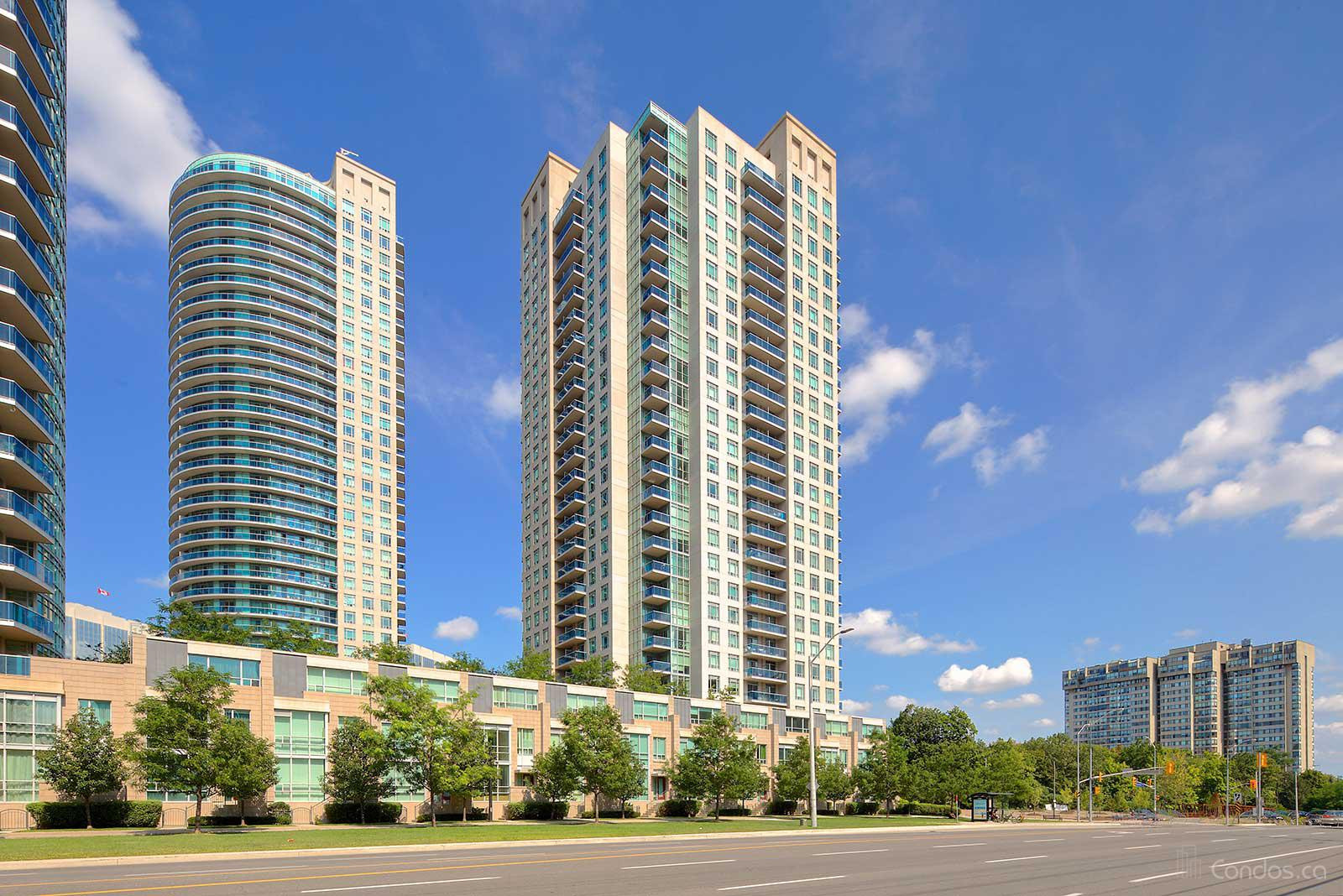 The Absolute at 90 Absolute Ave, Mississauga 1