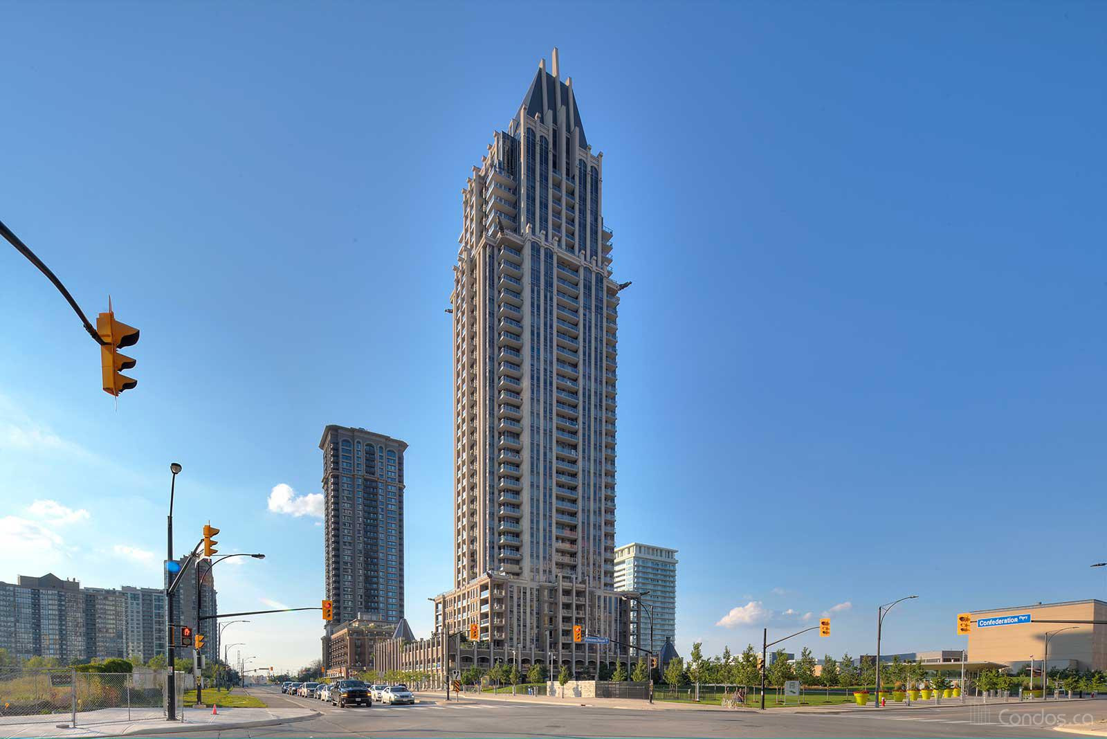 One Park Tower at 388 Prince of Wales Dr, Mississauga 1