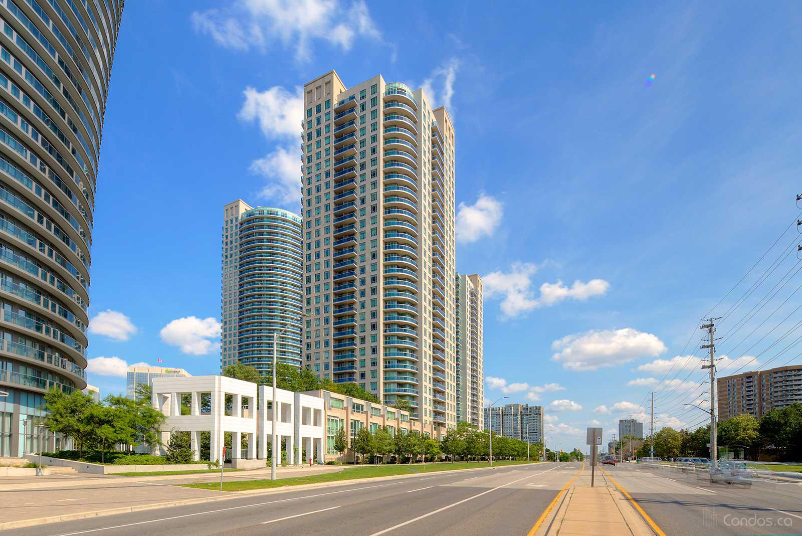 The Absolute Ⅱ at 70 Absolute Ave, Mississauga 1