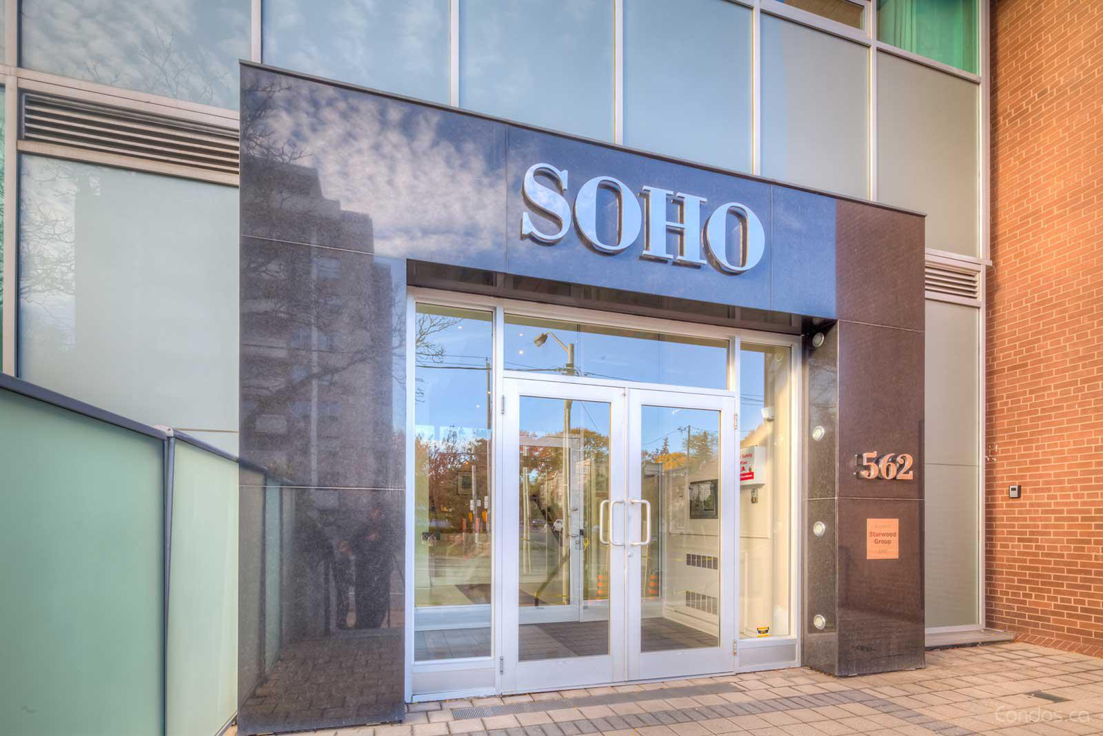 Soho Bayview Lofts at 562 Eglinton Ave E, Toronto 1