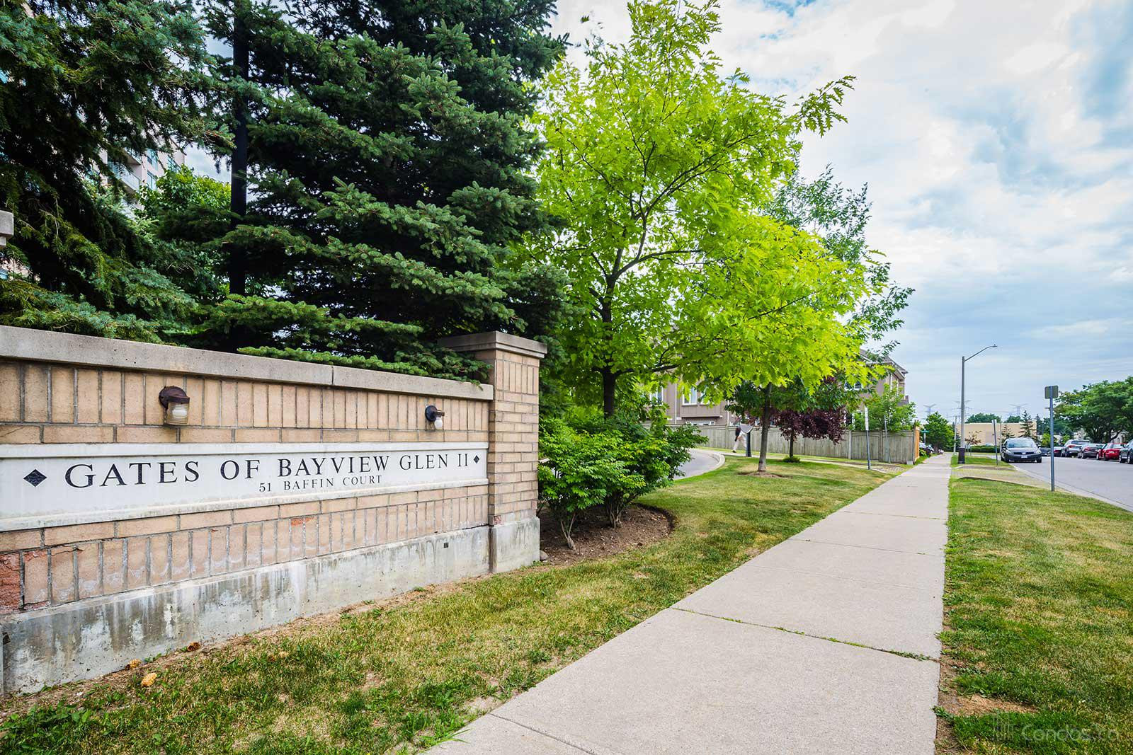 The Gates of Bayview Glen Ⅱ at 51 Baffin Crt, Richmond Hill 0