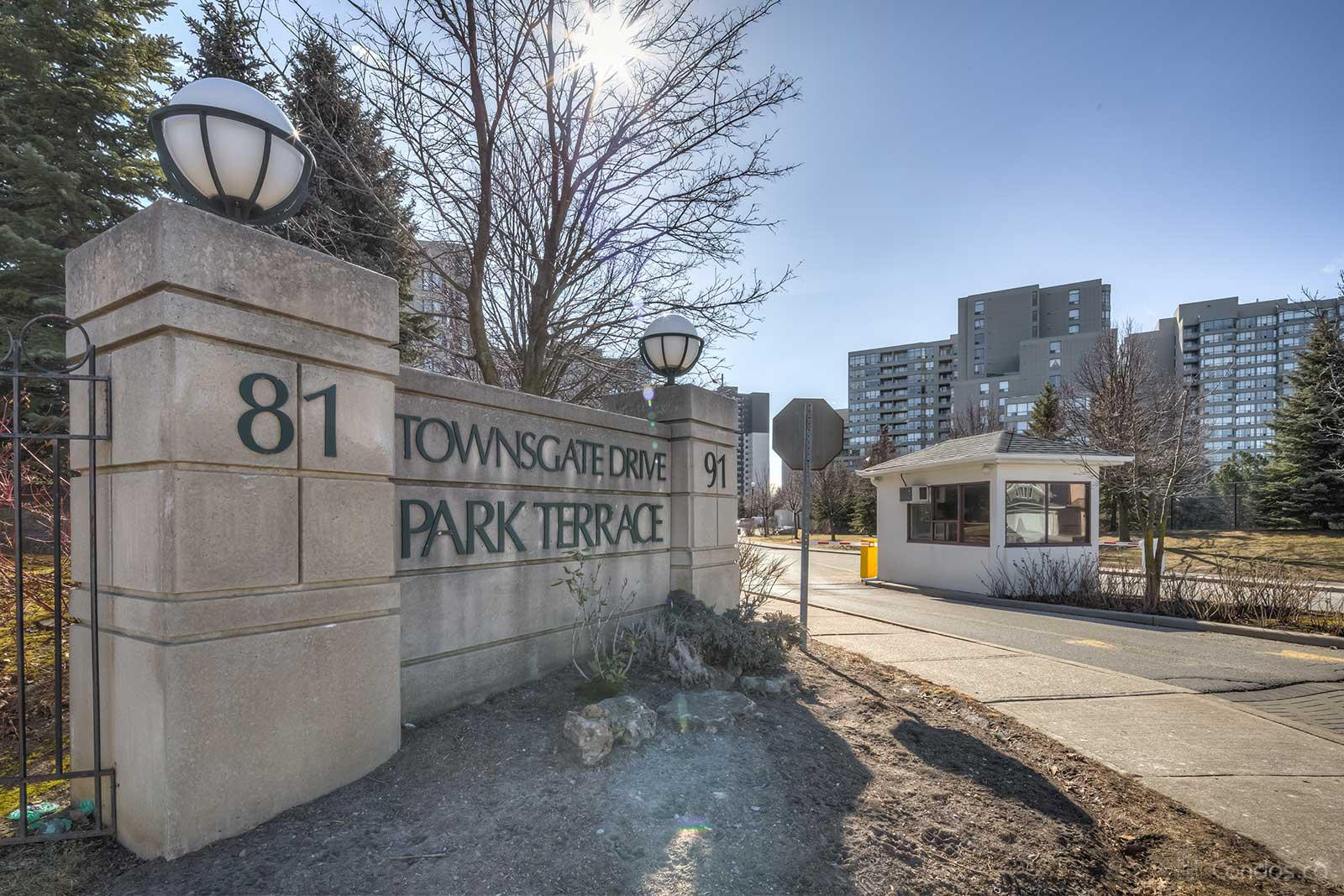 Park Terrace Ⅱ at 91 Townsgate Dr, Vaughan 0