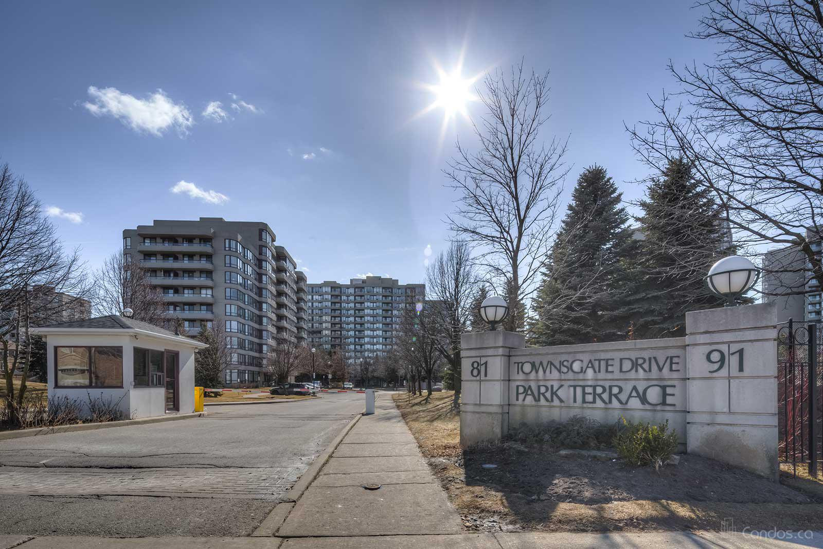 Park Terrace Ⅱ at 91 Townsgate Dr, Vaughan 1