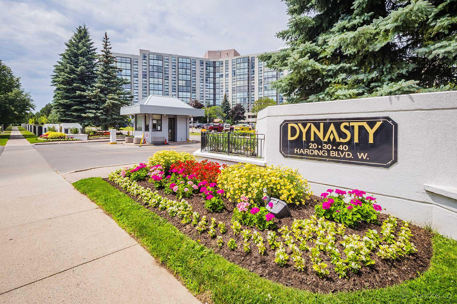 The Dynasty Ⅲ at 20 Harding Blvd, Richmond Hill 1