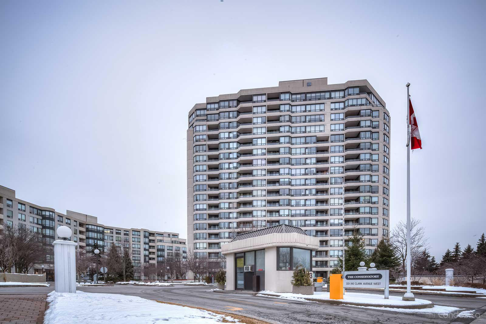 The Conservatory at 333 Clark Ave W, Vaughan 1