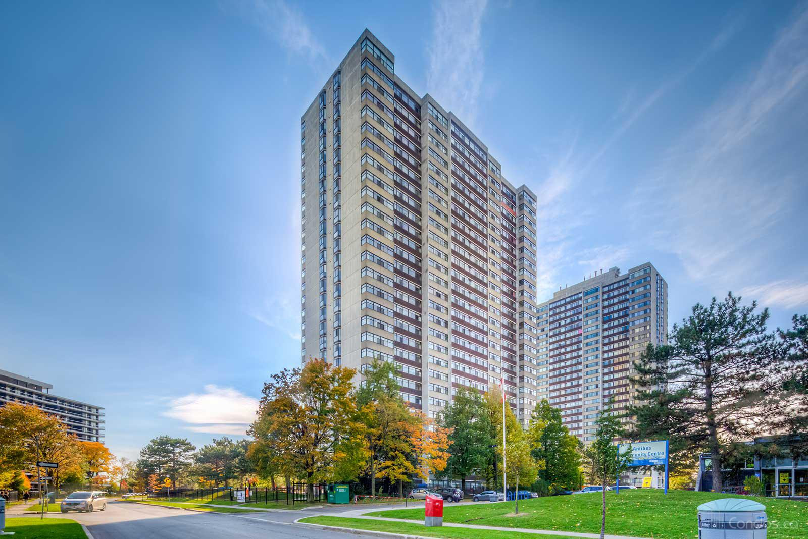 Antibes Court at 100 Antibes Dr, Toronto 1