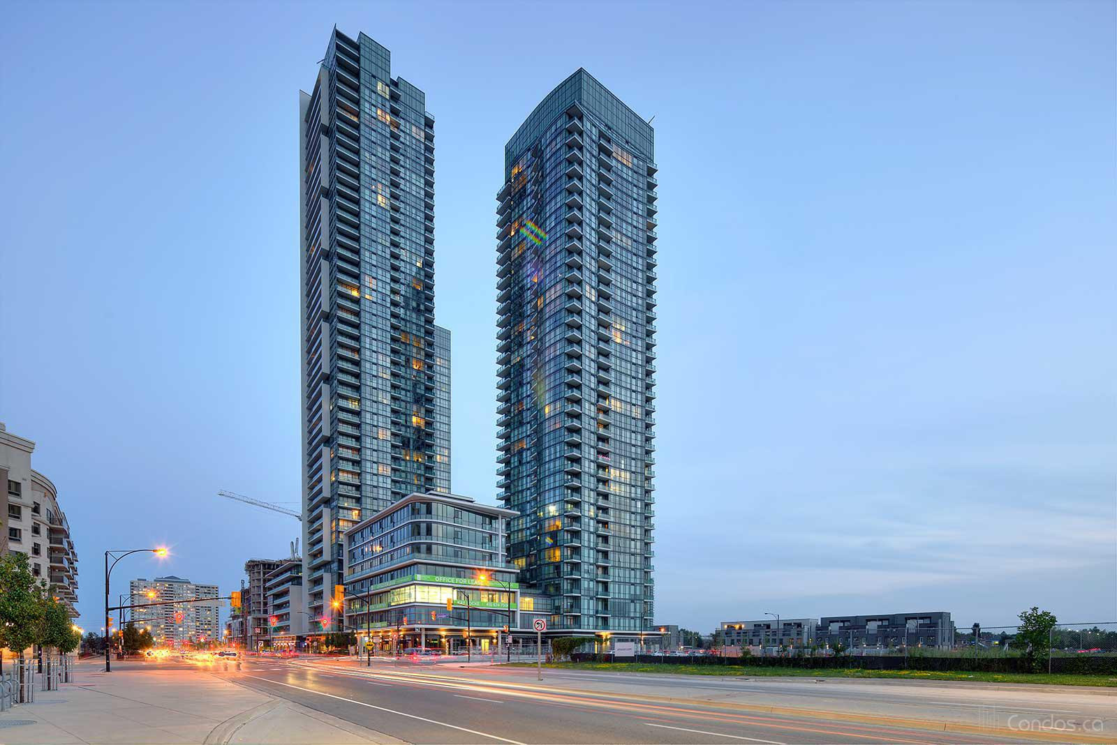 The Residences at Parkside Village at 4065 Brickstone Mews, Mississauga 1