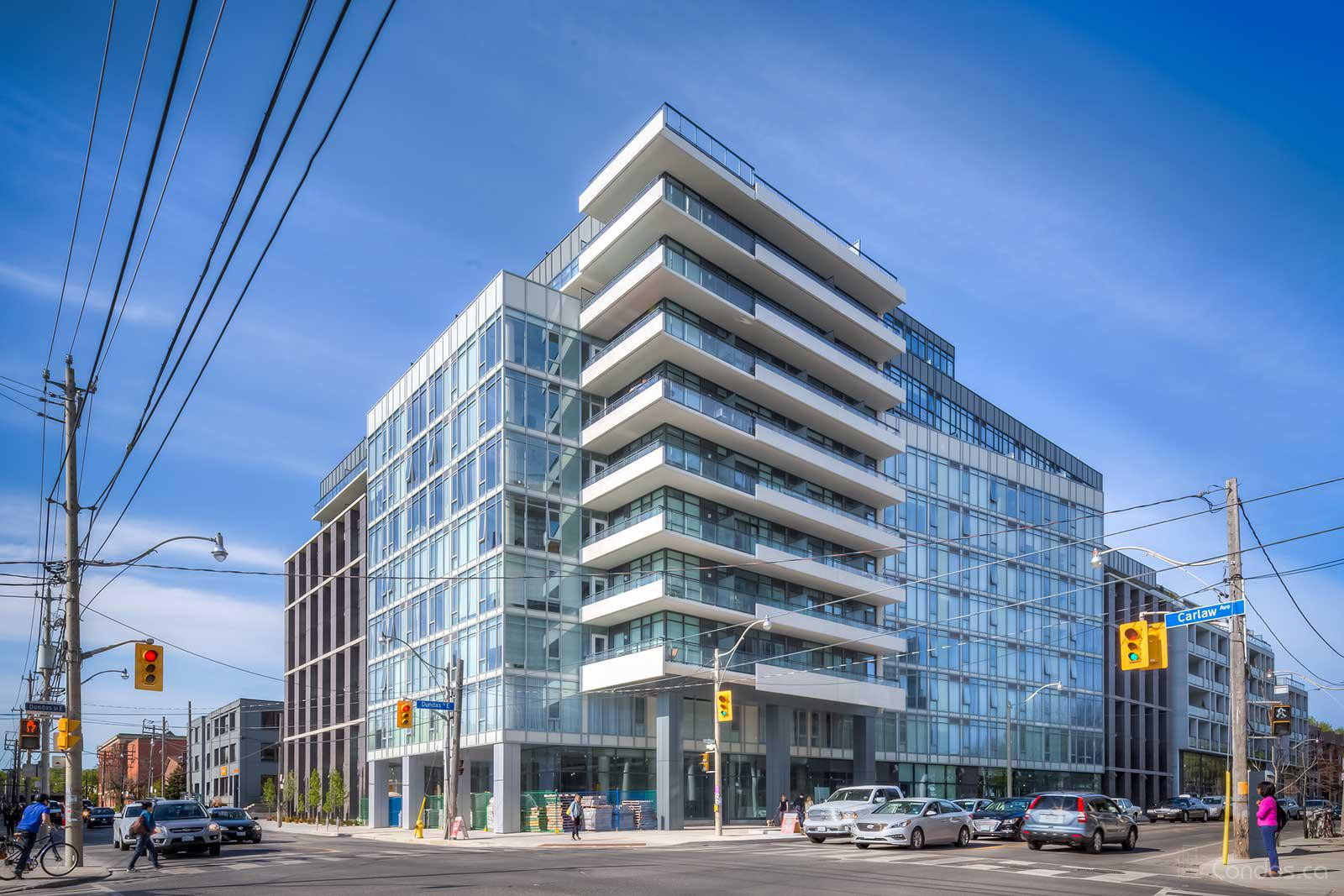 The Carlaw at 345 Carlaw Ave, Toronto 0