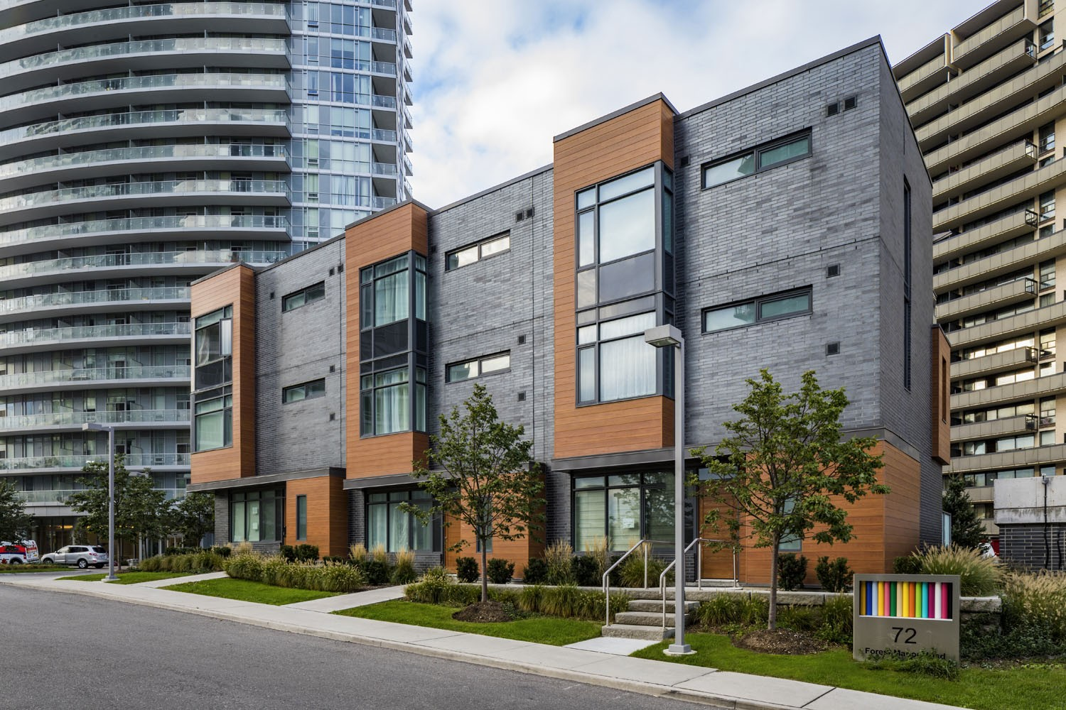 The Towns at Emerald City at 1A Forest Manor Rd, Toronto 0
