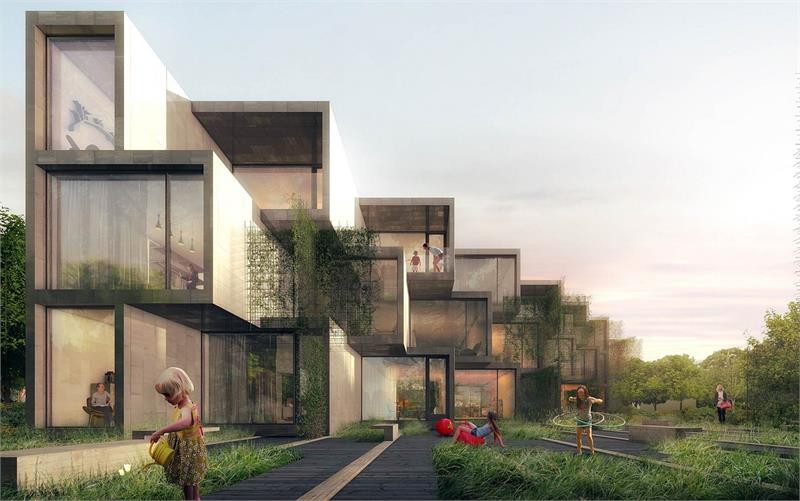 The Treehouse Townhomes at 2535 Gerrard St E, Toronto 1
