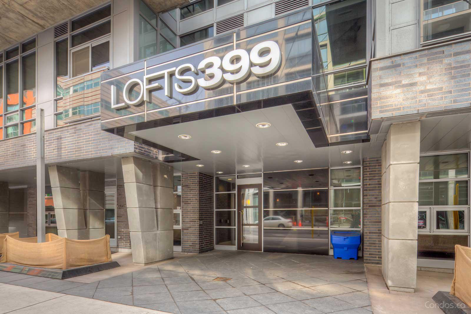 Lofts 399 at 399 Adelaide St W, Toronto 1