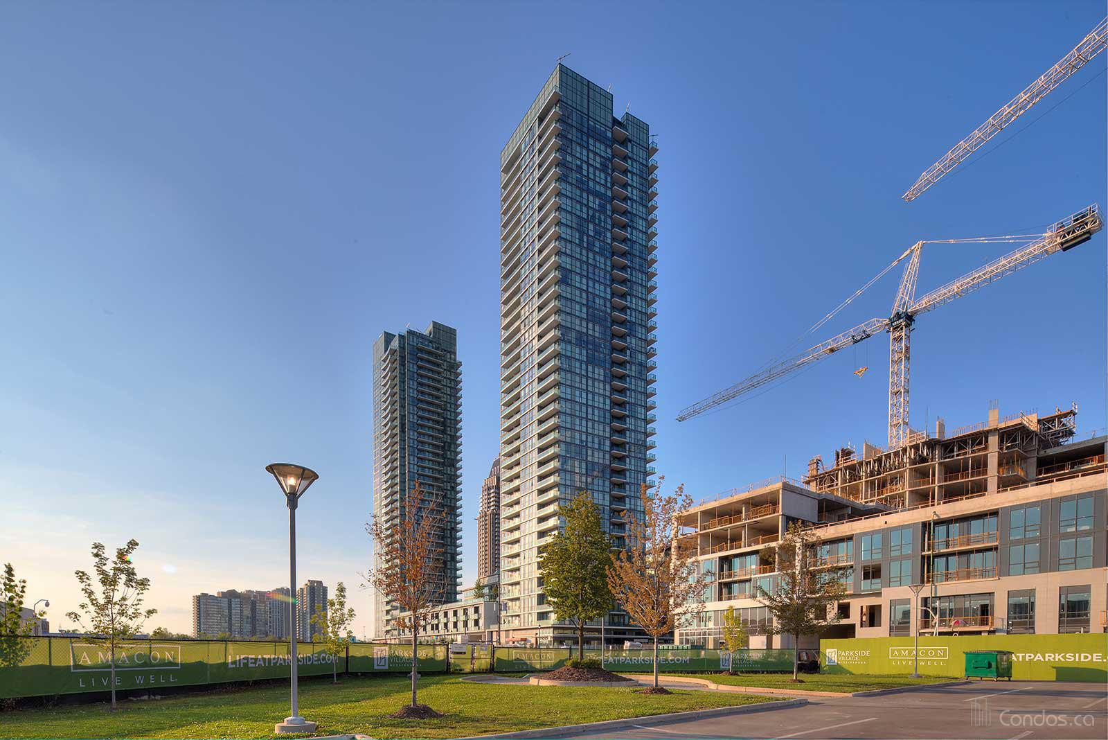 The Park Residences at Parkside Village at 4099 Brickstone Mews, Mississauga 0