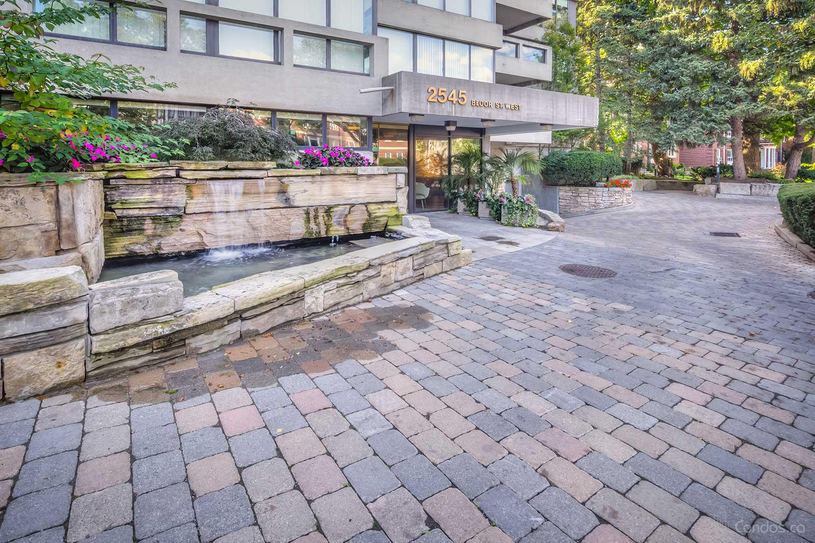 The Waterfall at 2545 Bloor St W, Toronto 0
