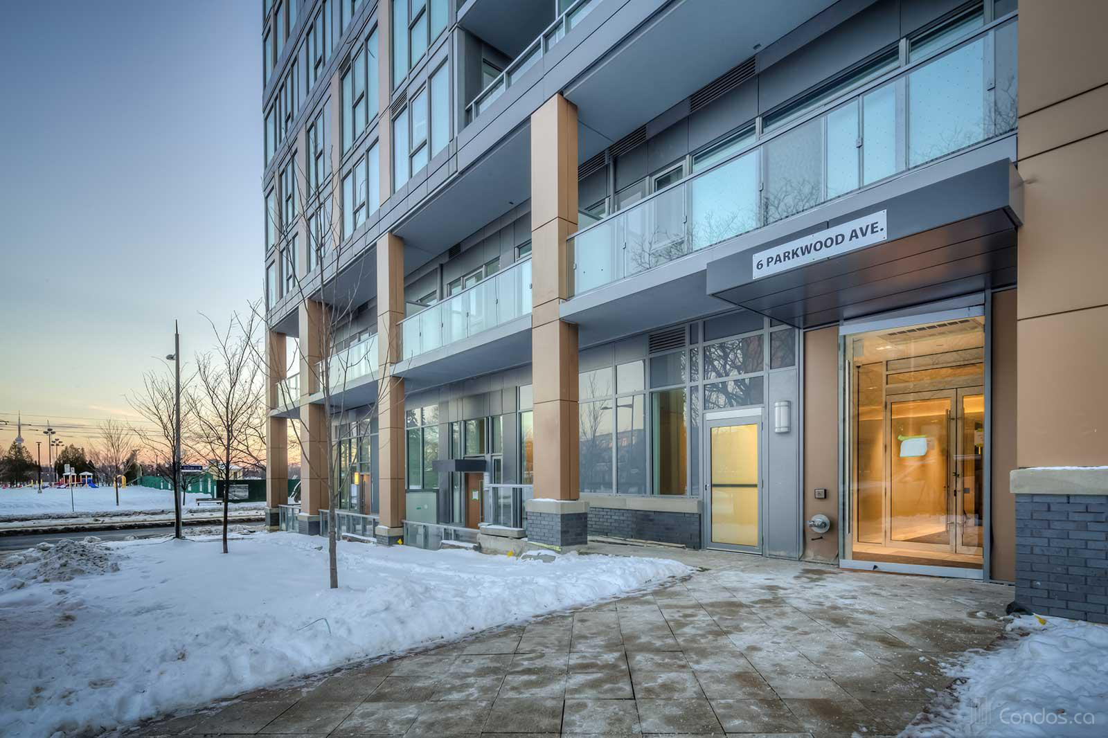 The Code Condos at 6 Parkwood Ave, Toronto 1