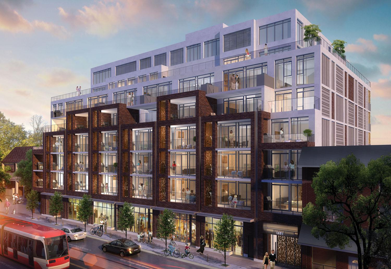 George Condos & Towns at 1331 Queen St E, Toronto 0
