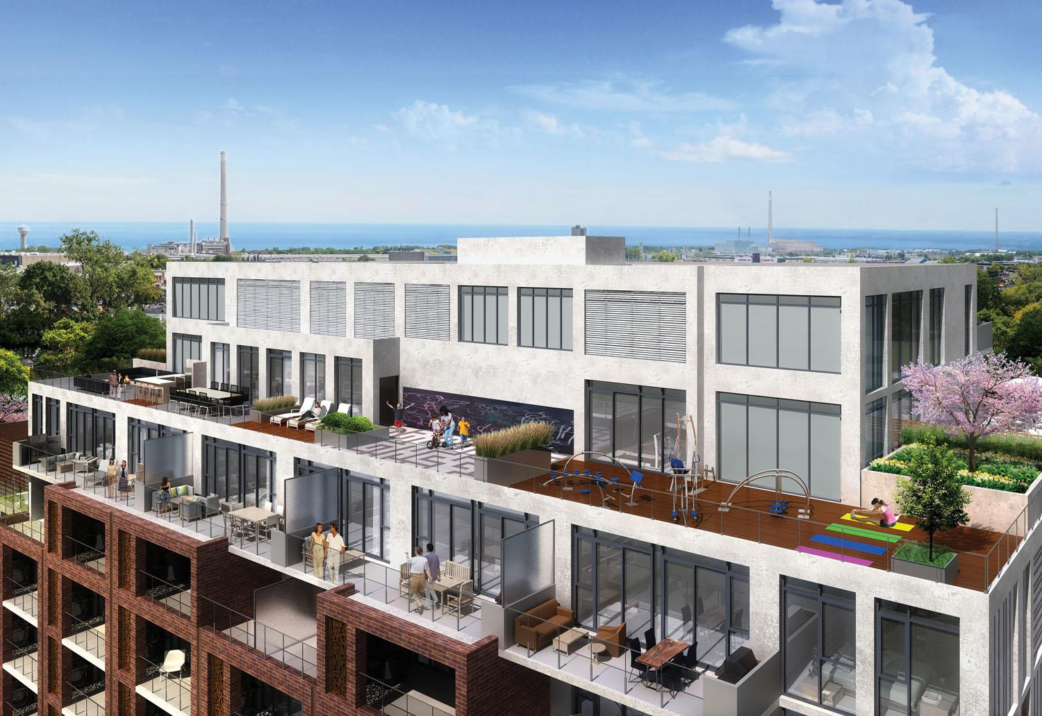 George Condos & Towns at 1331 Queen St E, Toronto 1