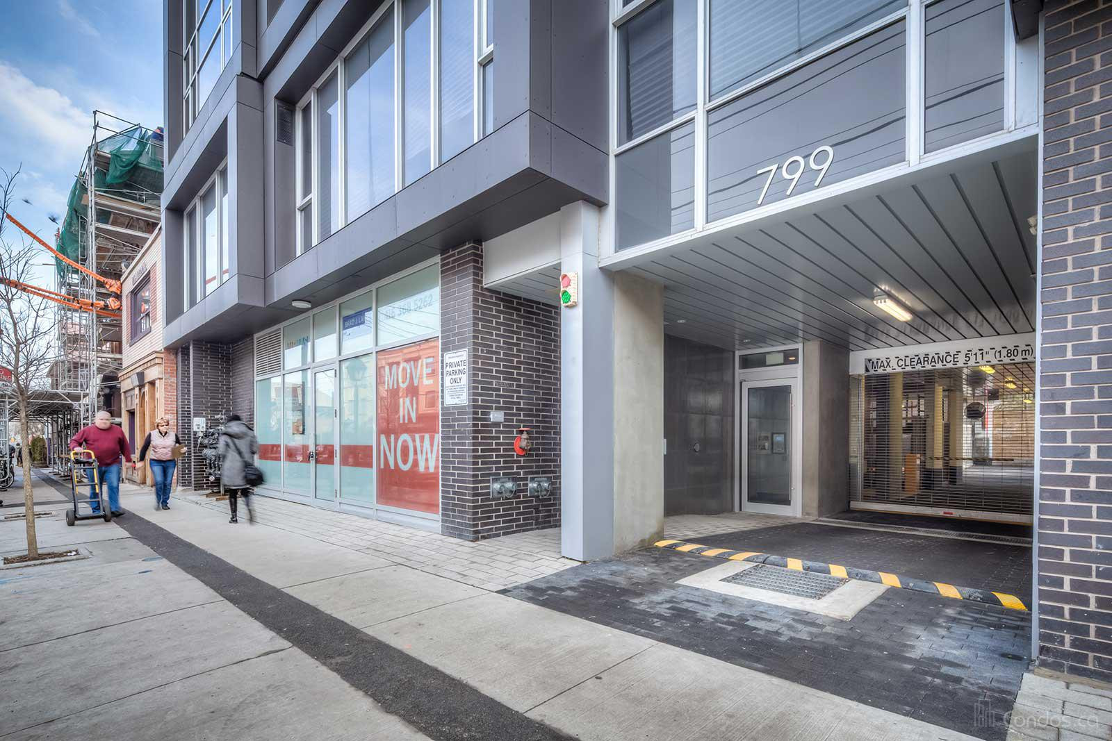 Cube Lofts at 799 College St, Toronto 1