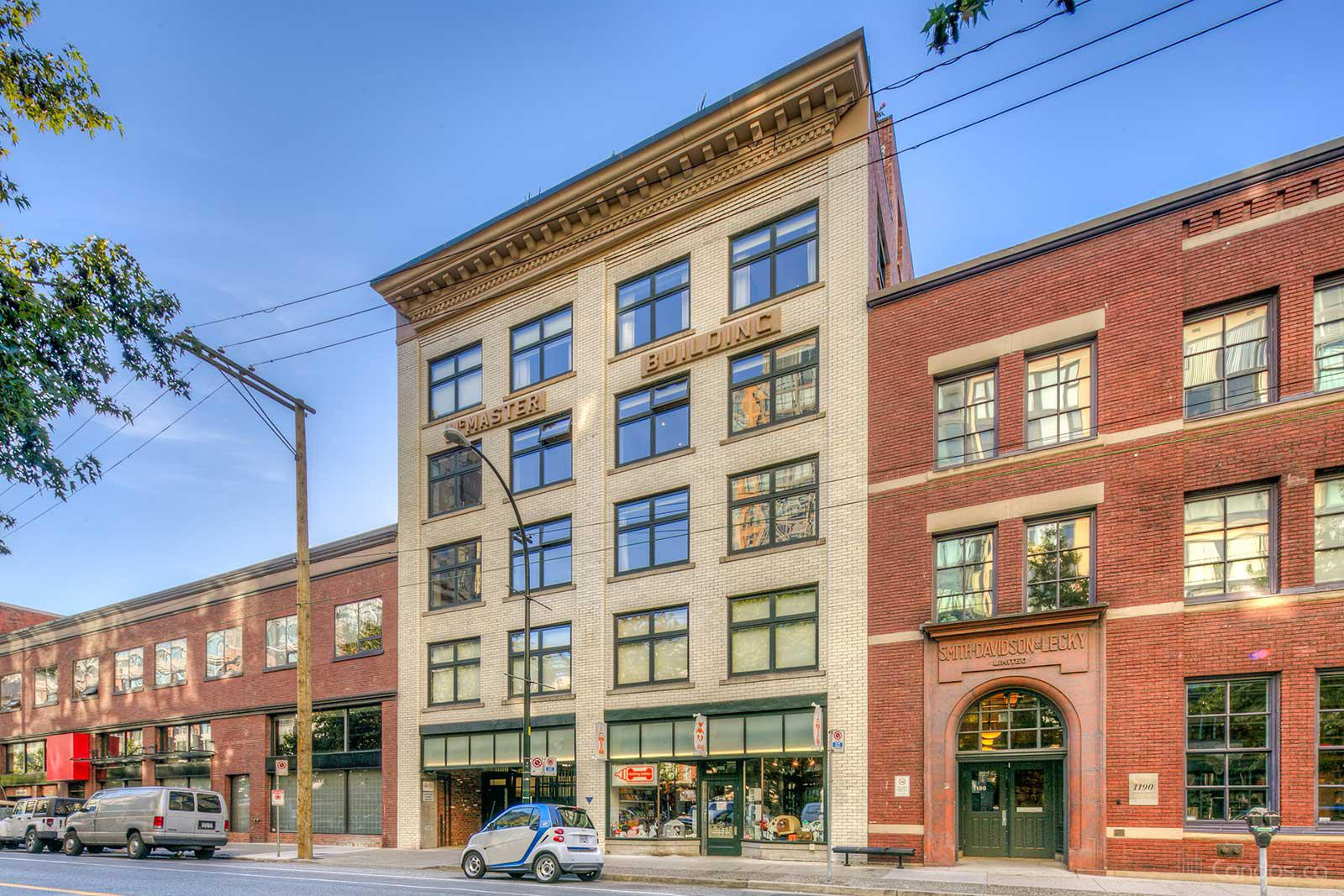 McMaster Building at 1180 Homer St, Vancouver 0