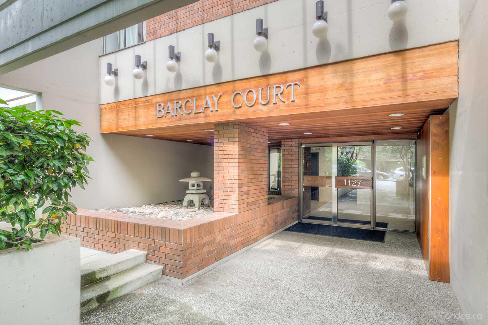 Barclay Court at 1127 Barclay St, Vancouver 0