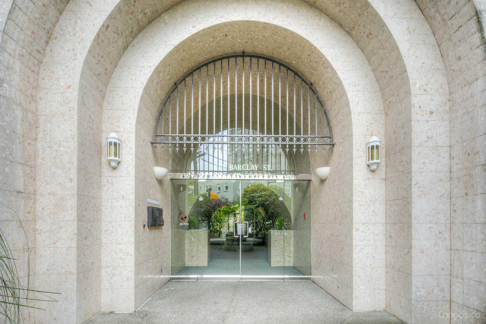 Barclay Terrace at 1075 Barclay St, Vancouver 1