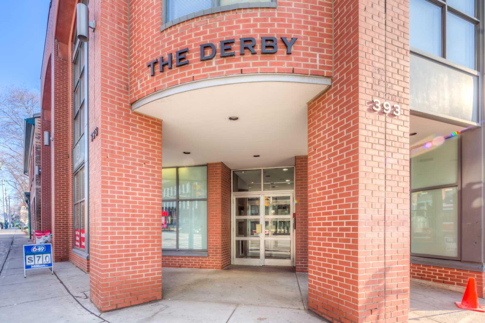 The Derby Lofts at 393 King St E, Toronto 1