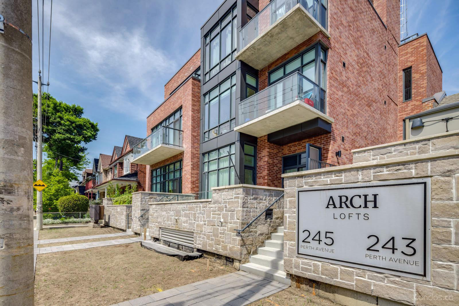 Arch Lofts at 243 Perth Ave, Toronto 0